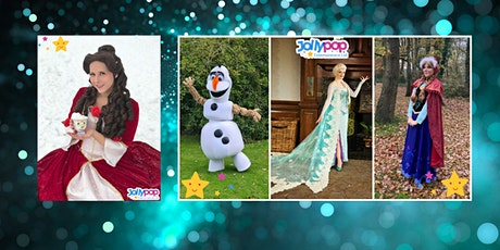 Zoom meet and greet with Belle of the Christmas Ball and the Snow Sisters tickets