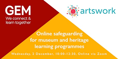 Online safeguarding for museum and heritage learning programmes tickets