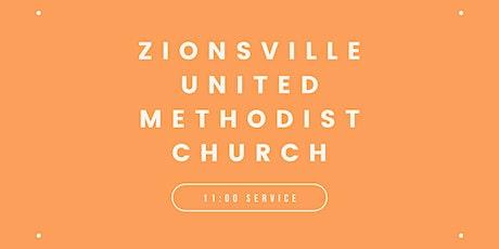 Zionsville United Methodist Church 11:00am Worship Service tickets