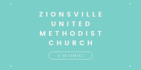 Zionsville United Methodist Church 9:30am Worship Service tickets