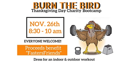 FASTER ROBINSON - BURN the BIRD CHARITY BOOTCAMP tickets