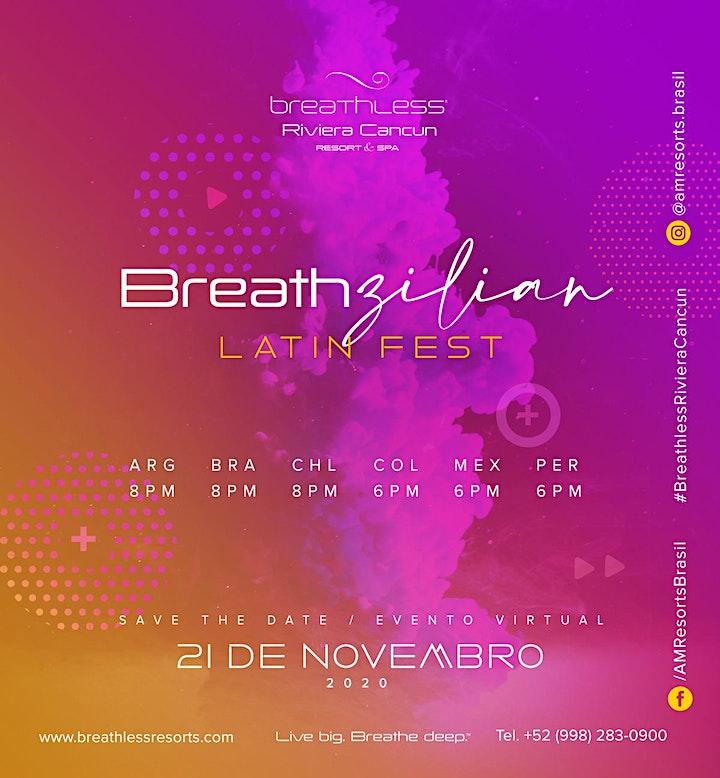 Breathzilian Latin Fest  by Breathless Riviera Cancun image