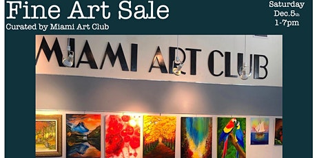 Fine Art Sale, Curated by Miami Art Club tickets