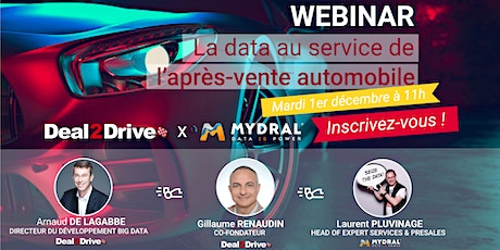 Deal2Drive x Mydral : la data au service de l'après-vente automobile billets