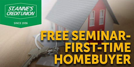 St. Anne's Credit Union Virtual Home Buying Seminar tickets