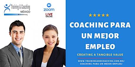 Coaching para un Mejor Empleo Grupo 2 entradas