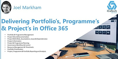 Delivering Portfolios, Programmes & Projects in M365 tickets