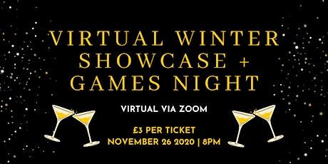 One Wear Freedom's Virtual Winter Showcase + Games Night tickets