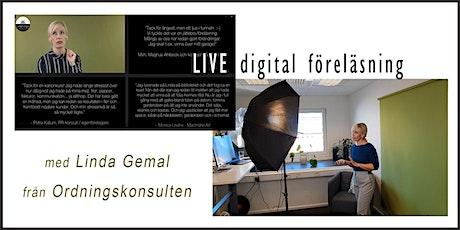 Organisera & Strukturera din tid och digitala värld! (biljettpris: 150 kr) tickets