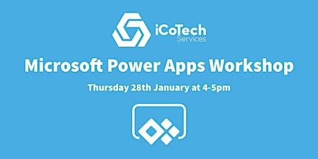 Microsoft Power Apps Workshop biglietti
