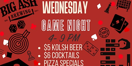 Wednesday Game Night tickets