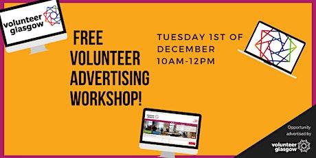 Volunteer Advertising Workshop tickets