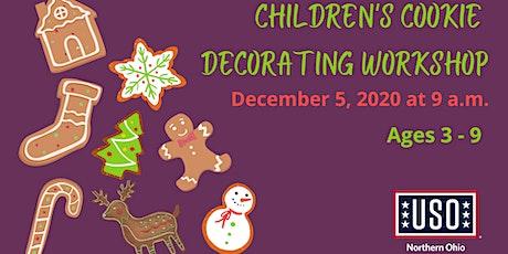 USO of Northern Ohio Children's Cookie Decorating Workshop tickets