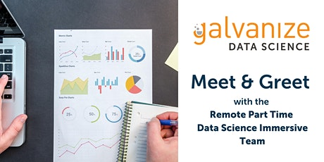 Meet and Greet with Remote Part Time Data Science Immersive Team tickets