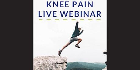 Reversing Knee Pain Naturally - Live Webinar tickets