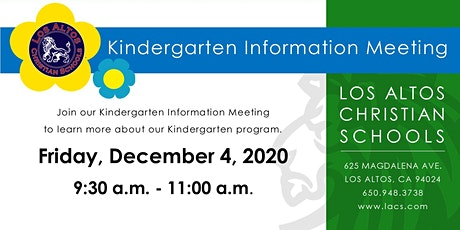 Kindergarten Information Meeting 2021-2022 tickets