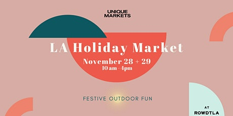 Unique Markets: 13th Annual Holiday Market tickets