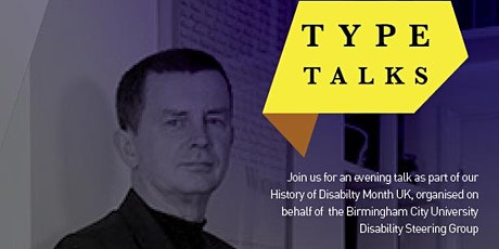 BCU Type Talks  |  Phil Cleaver  | Designing with Dyslexia tickets