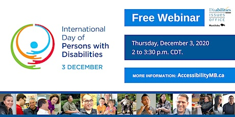 International Day of Persons with Disabilities (IDPD) 2020 Webinar