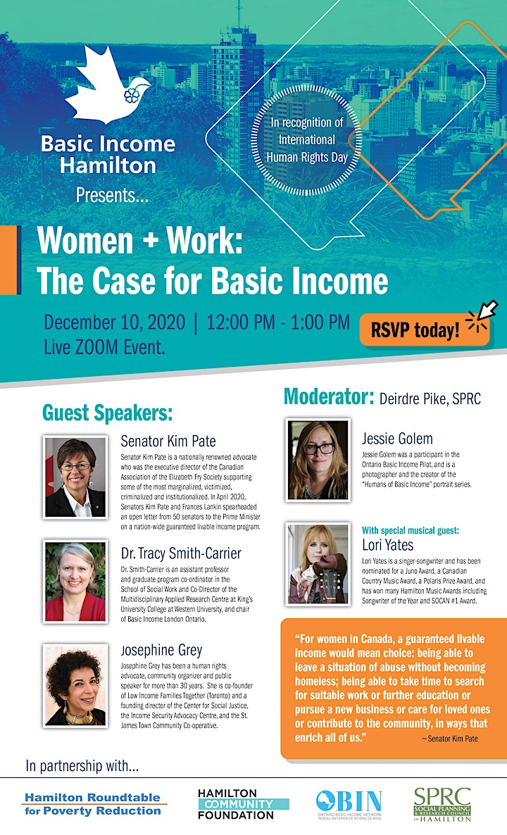 Women + Work: The Case for Basic Income image