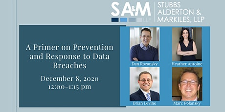 A Primer on Prevention and Response to Data Breaches tickets
