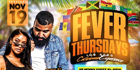 FEVERTHURSDAYS: THE ULTIMATE AFRO-CARIBBEAN EXPERIENCE tickets