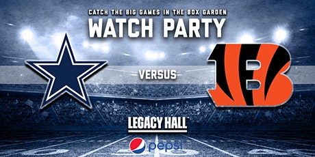 Cowboys vs. Bengals Watch Party tickets