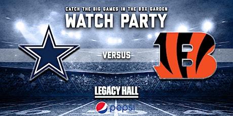 Cowboys vs. Bengals Watch Party