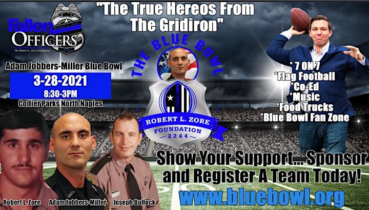 2ND ANNUAL ADAM JOBBERS-MILLER BLUE BOWL CO-ED FLAG FOOTBALL TOURNAMENT image