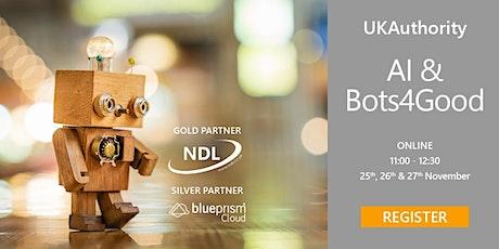 UKAuthority AI & Bots4Good tickets