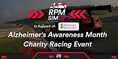 RPM SIM GP: Alzheimer's Awareness Month Charity Race tickets