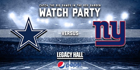 Cowboys vs. Giants Watch Party