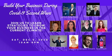 Build Your Business during Covid-19 Second Wave tickets