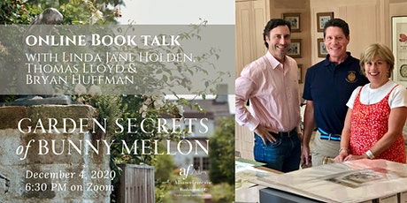 Garden Secrets of Bunny Mellon: Online Book Talk tickets