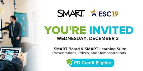 SMART & ESC19 | SMART Board & SMART Learning Suite tickets