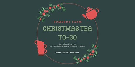 Christmas Tea To-Go tickets
