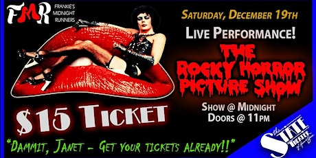 Rocky Horror Picture Show - LIVE! tickets