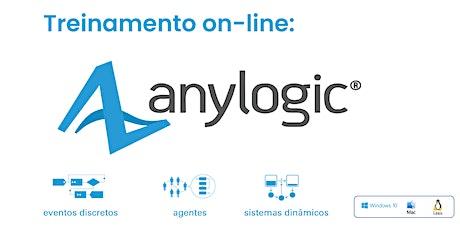 Treinamento on-line: AnyLogic - 08 a 11 de fevereiro de 2021 bilhetes