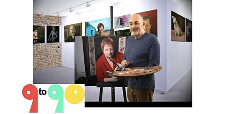 9to90 Online  Portraiture  class tickets