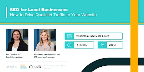 SEO for Local Businesses: How to Drive Qualified Traffic to Your Website tickets