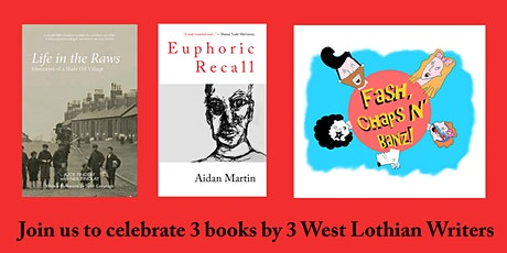 West Lothian Book Launch - 3 Authors Publishing Books in Oct /Nov 2020 tickets