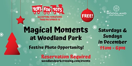 Magical Moments at Woodland Park Photo Op and Toys for Tots Drop Off tickets