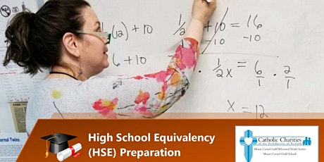 HSE/GED Math Test Prep- Percentages, Fractions, Decimals- Offered by CCANNJ tickets