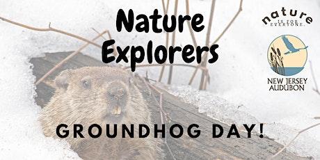 Nature Explorers: Groundhog Day! tickets