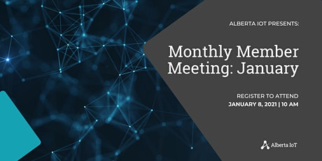 Monthly Member Meeting - January tickets