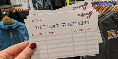 Men's Holiday Shopping Night tickets