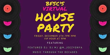 Virtual House Party tickets