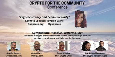 Crypto for the Community Conference tickets