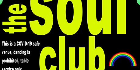 The Soul Club - Tickets  from 7th November valid for this event tickets