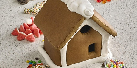 Parent & Child: Make & Take A Decorated  Gingerbread House tickets